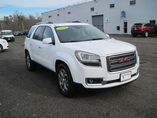 Pre-Owned 2016 GMC Acadia SLT